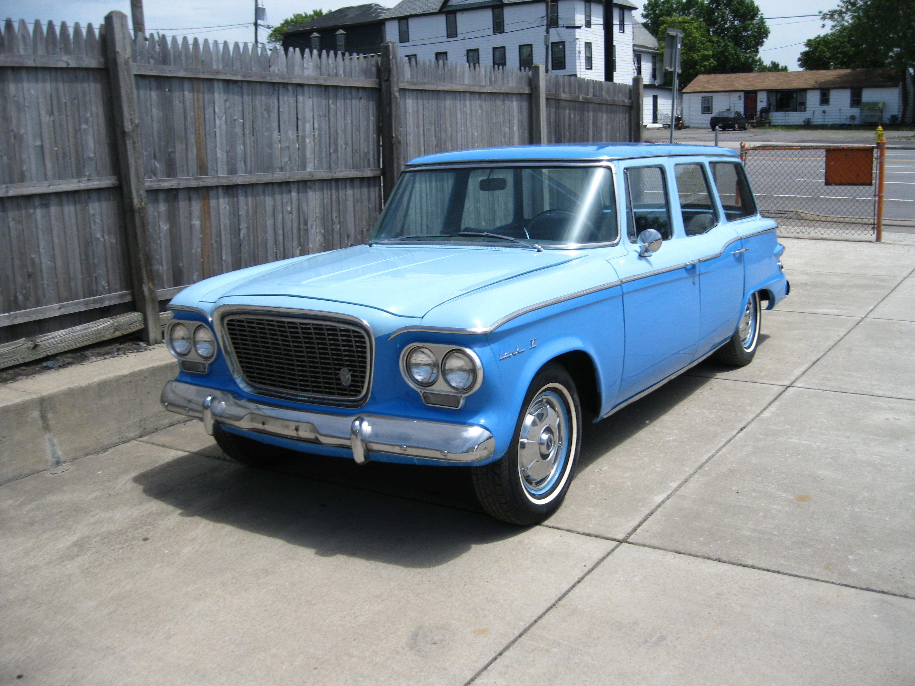 1961 STUDEBAKER STATION WAGON