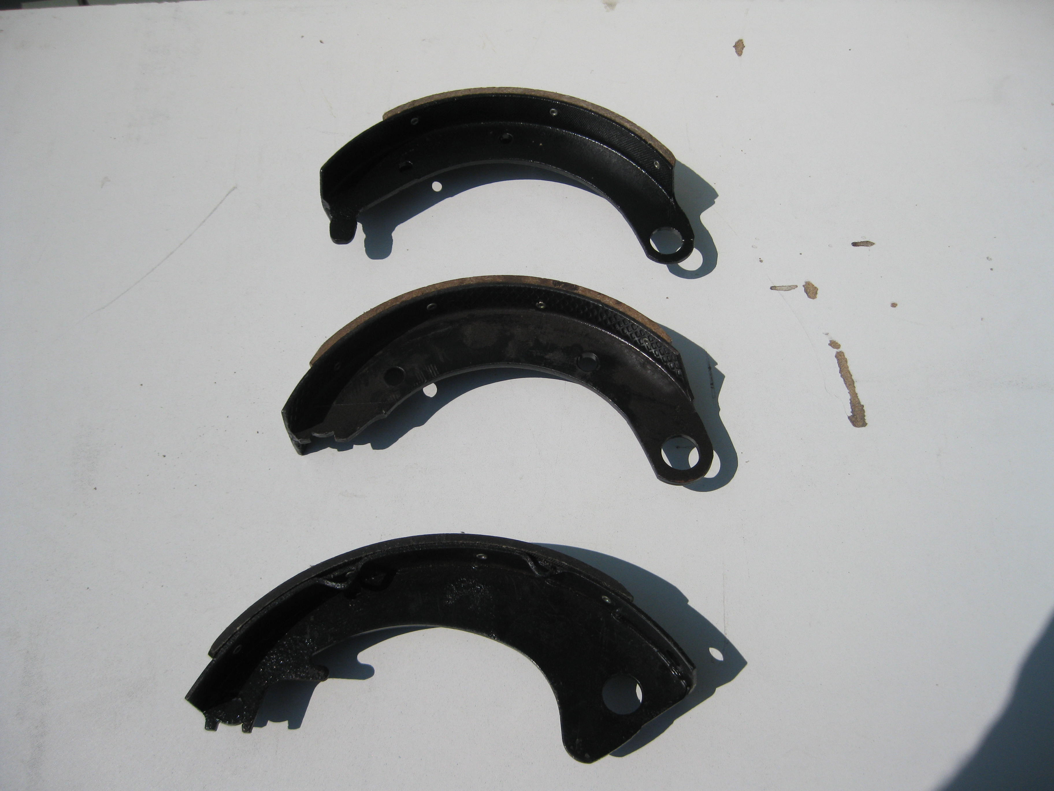 1937-61 ALL SERIES OF MOPARS BRAKE SHOES